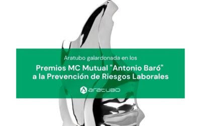 Aratubo ha sido galardonada con el Premio 'Antonio Baró' a la Prevención de Riesgos Laborales