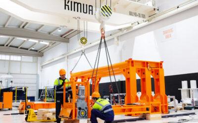 Kimua, manipulación de grandes cargas con el objetivo de digitalizar su actividad